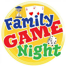 Family Game Night clip art from PTO Today. | Family game night ...