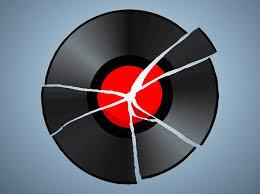Broken Record Vector Art & Graphics | freevector.com